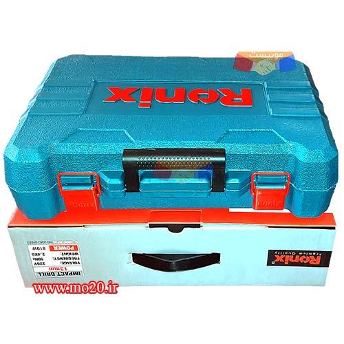جعبه-بسته-بندی-دریل-رونیکس-مخصوص-نصب-کولر-گازی